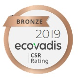 2019 ecovadis CSR Rating BRONZE